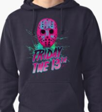 FRIDAY THE 13TH Neon V Pullover Hoodie
