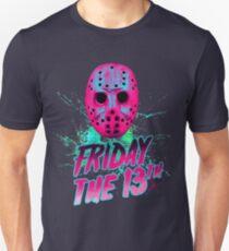 Freitag, der 13. Neon V Unisex T-Shirt