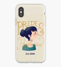 Pride and Prejudice iPhone Case