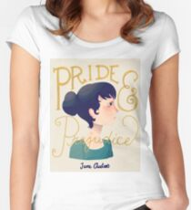 Pride and Prejudice Women's Fitted Scoop T-Shirt