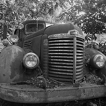 Abandoned Fire Truck by cvdad
