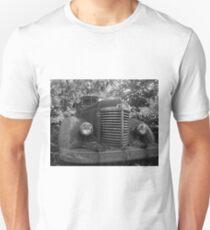 Abandoned Fire Truck Unisex T-Shirt
