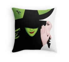 Wicked The Musical Pillow Throw Pillow