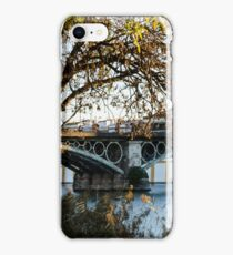 Seville - the Triana bridge iPhone Case/Skin