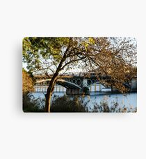Seville - the Triana bridge Canvas Print