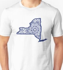 New York Mandala Unisex T-Shirt