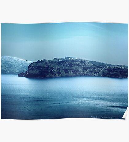 Santorini Coast VRS2 Poster