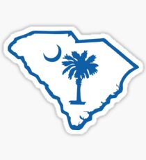 South Carolina Palmetto Sticker