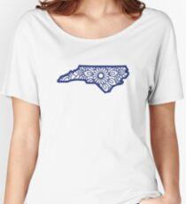 North Carolina Mandala Women's Relaxed Fit T-Shirt