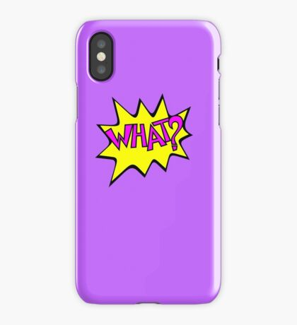 What? VRS2 iPhone Case