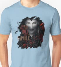 No Idea What She's Capable Of Unisex T-Shirt