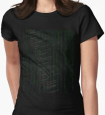 Linux kernel code Women's Fitted T-Shirt