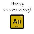 Happy anniversary - GOLD by garigots
