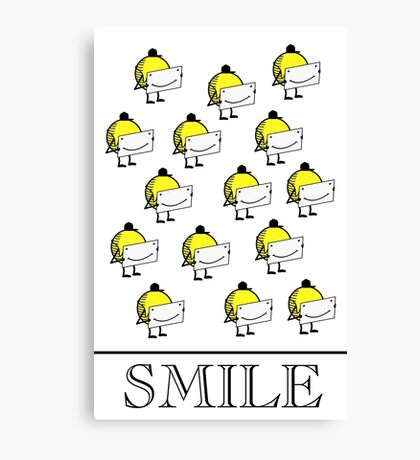 Smile VRS2 Canvas Print