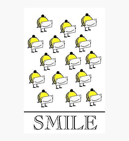 Smile VRS2 Photographic Print