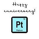 Happy anniversary - PLATINUM by garigots