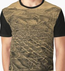 Map Of Butte 1884 Graphic T-Shirt