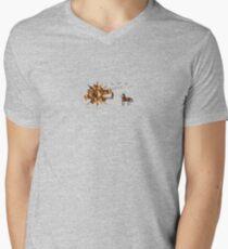 Do Not Be Afraid Mens V-Neck T-Shirt