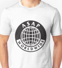 A$AP Worldwide - Logo Globe Unisex T-Shirt