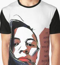 Popart sarcastic quote Graphic T-Shirt