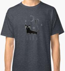 A Black Cat Classic T-Shirt