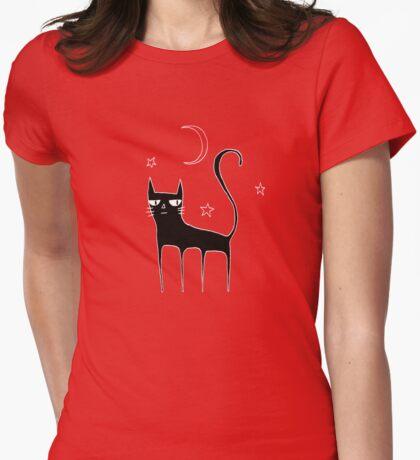 A Black Cat T-Shirt