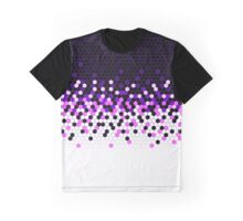 Flat Tech Camouflage Reverse Purple Graphic T-Shirt
