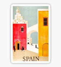 Spain Postcard Sticker