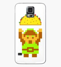 Link and a taco Case/Skin for Samsung Galaxy