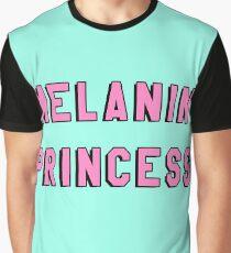 MELANIN PRINCESS   BLACK GIRL MAGIC QUOTE PRINT Graphic T-Shirt