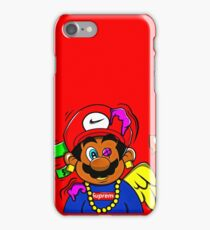 supreme mario iPhone Case/Skin