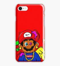 supreme mario iPhone Case/Skin