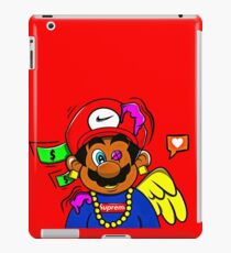 supreme mario iPad Case/Skin
