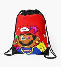 supreme mario Drawstring Bag