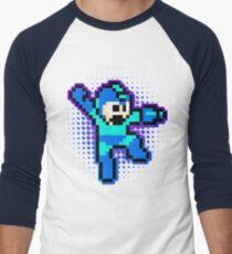Megaman Shooting flavour Men's Baseball ¾ T-Shirt