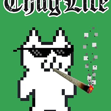 Cat Mario Thug Life by HeadOut