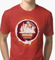 Bonaire Sunset Tri-blend T-Shirt