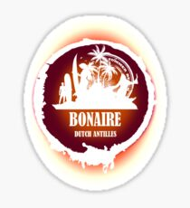 Bonaire Sunset Sticker