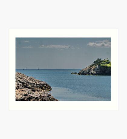Looking Seaward Art Print