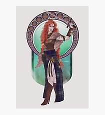 Boudicca (Badass Women of History Collection) Photographic Print