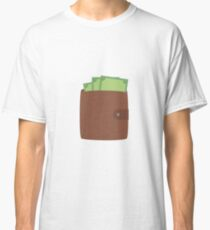 Wallet with money Classic T-Shirt
