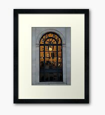 RISD Sunset Framed Print