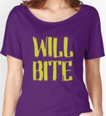 Will Bite Women's Relaxed Fit T-Shirt
