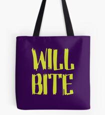 Will Bite Tote Bag