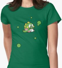 Matching 2 player - 1UP Bub Women's Fitted T-Shirt