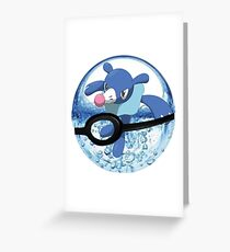 Popplio Greeting Card