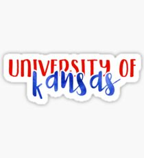 University of Kansas - Style 1 Sticker