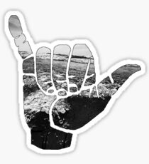 Beach Hand  Sticker