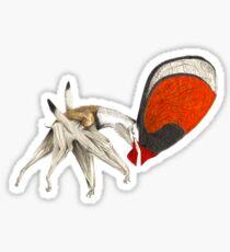 """Tupandactylus, the """"thunder god"""" pterosaur Sticker"""