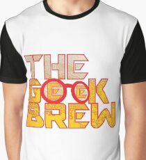 The Geek Brew Retro Logo Graphic T-Shirt